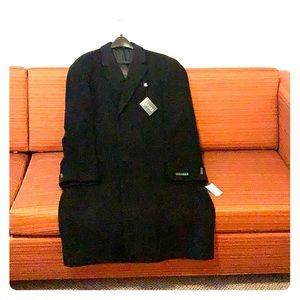 Ralph Lauren Black Overcoat